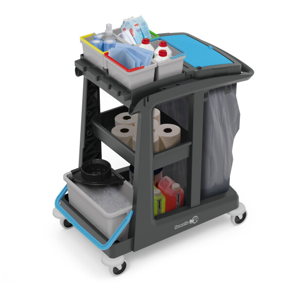 Eco-Matic EM1Cleaning Trolley