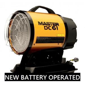 Master Infared Oil Heater DC61 Hybrid