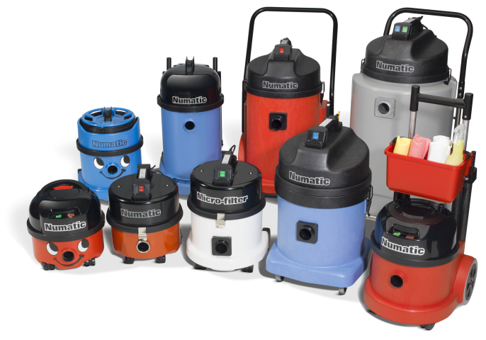 commercial and industrial vacuums