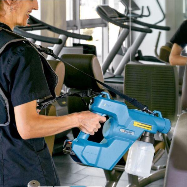 FiMap Electrostatic Hygienisation E-Spray Gun