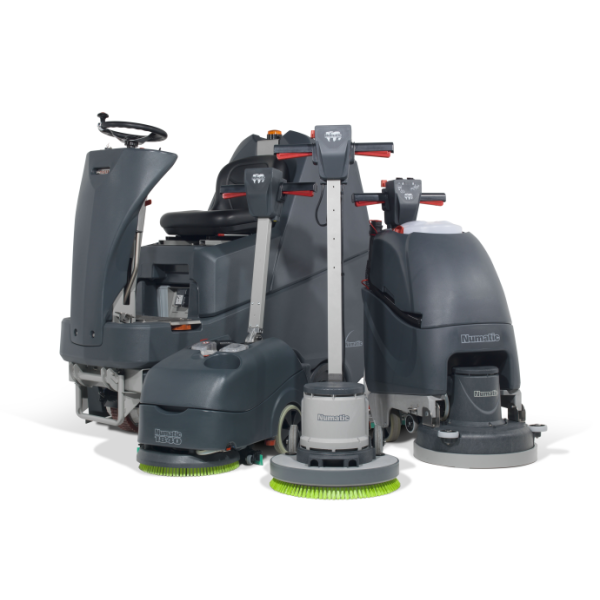Scrubber Dryers & Floor Machines
