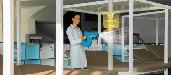 E-Spray being used in sun room