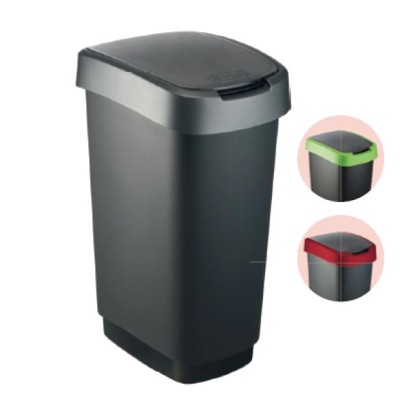 plastic dustbin swinging cover