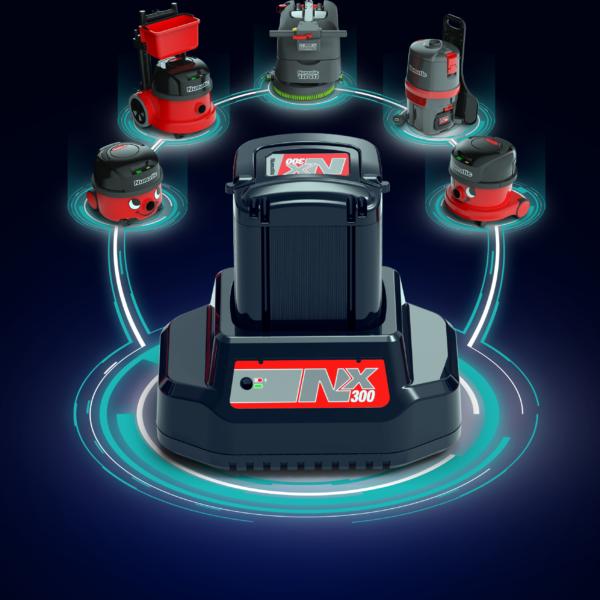 Numatic NX300 Battery Network