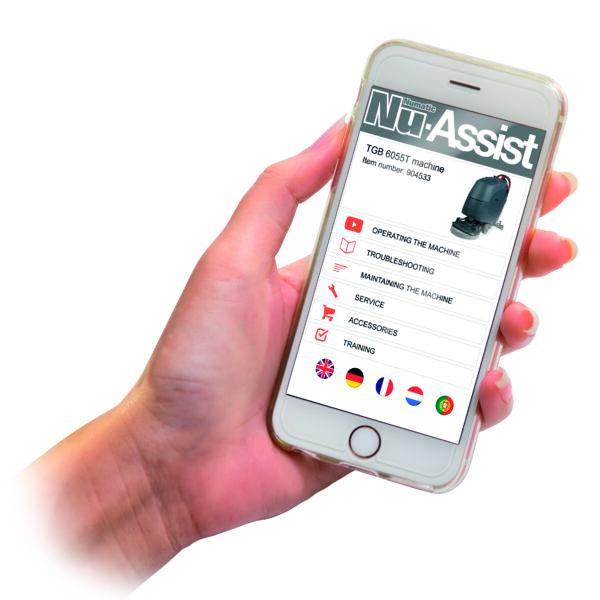 Numatic Nu-Assist App